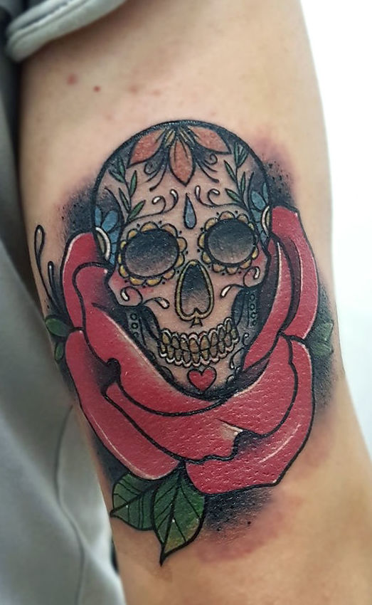 Foto 38 de Tatuajes en Cehegin | Skulls Lady Tattoo And Gallery