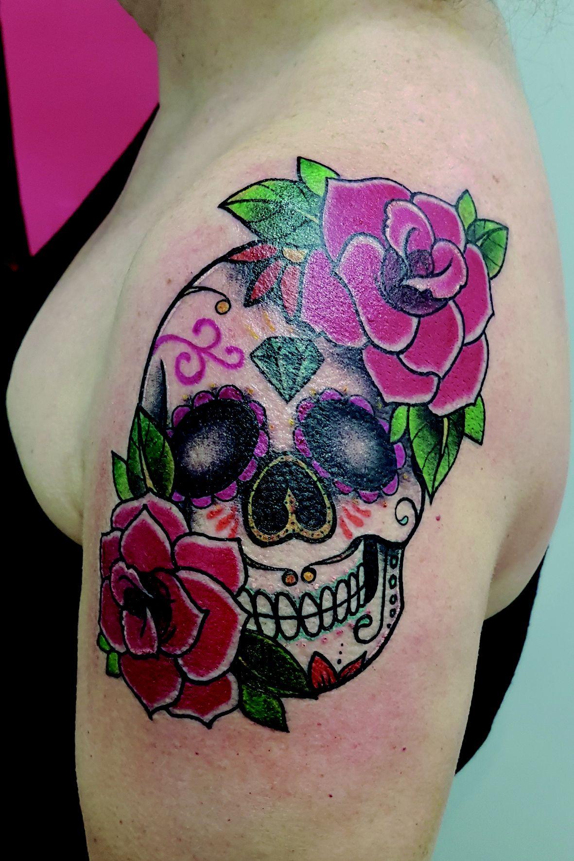Foto 91 de Tatuajes en Cehegin   Skulls Lady Tattoo And Gallery