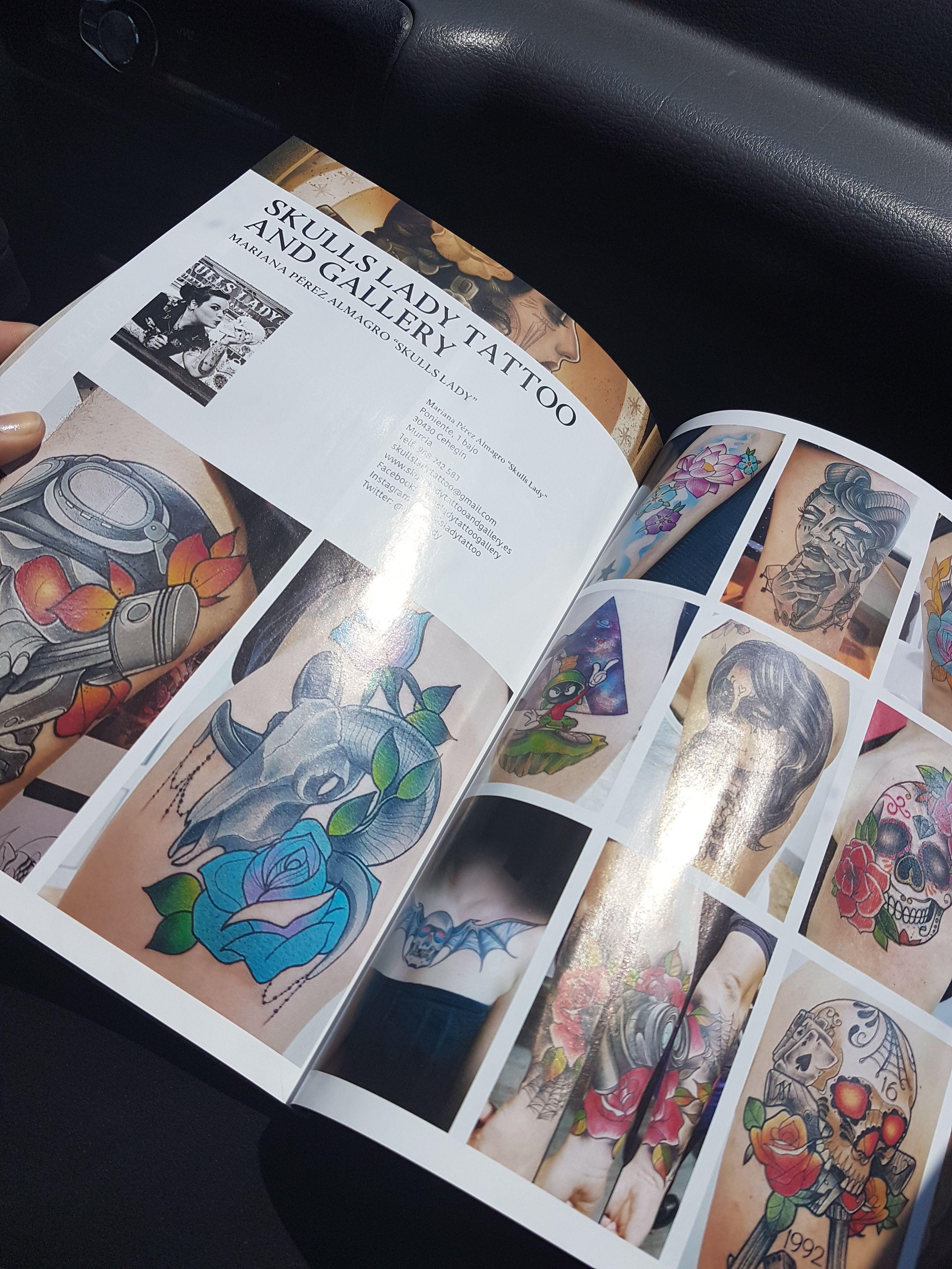 Foto 76 de Tatuajes en Cehegin | Skulls Lady Tattoo And Gallery