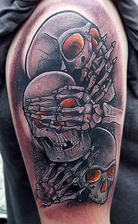 Foto 86 de Tatuajes en Cehegin | Skulls Lady Tattoo And Gallery