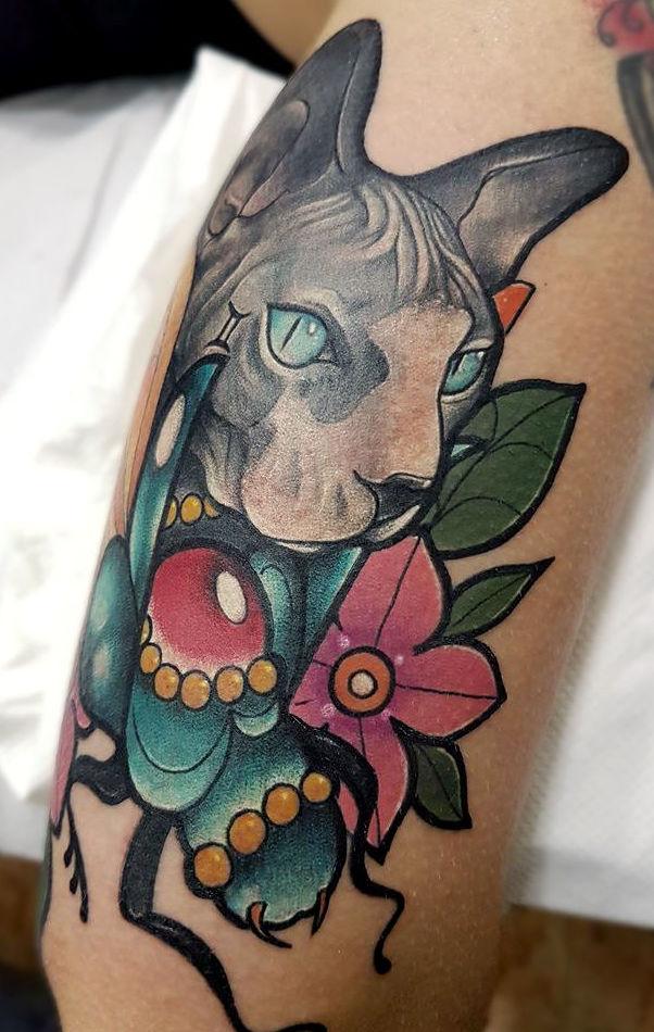 Foto 41 de Tatuajes en Cehegin   Skulls Lady Tattoo And Gallery