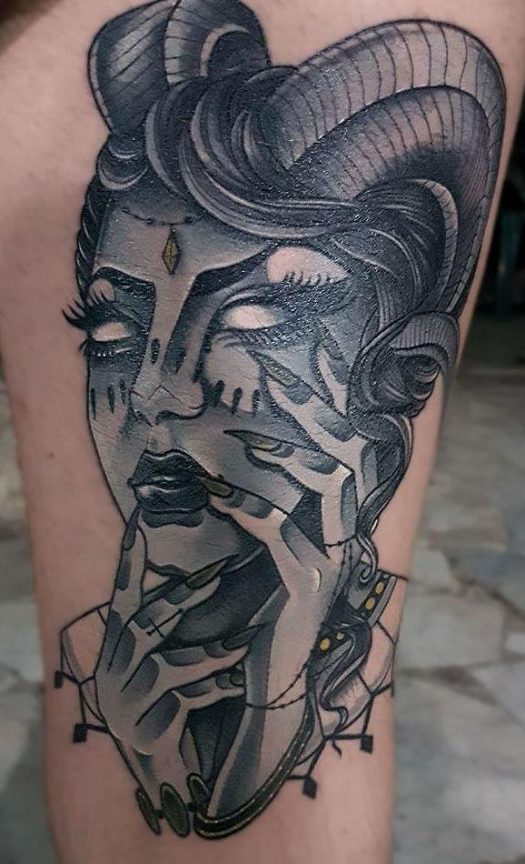 Picture 30 of Tatuajes in Cehegin | Skulls Lady Tattoo And Gallery