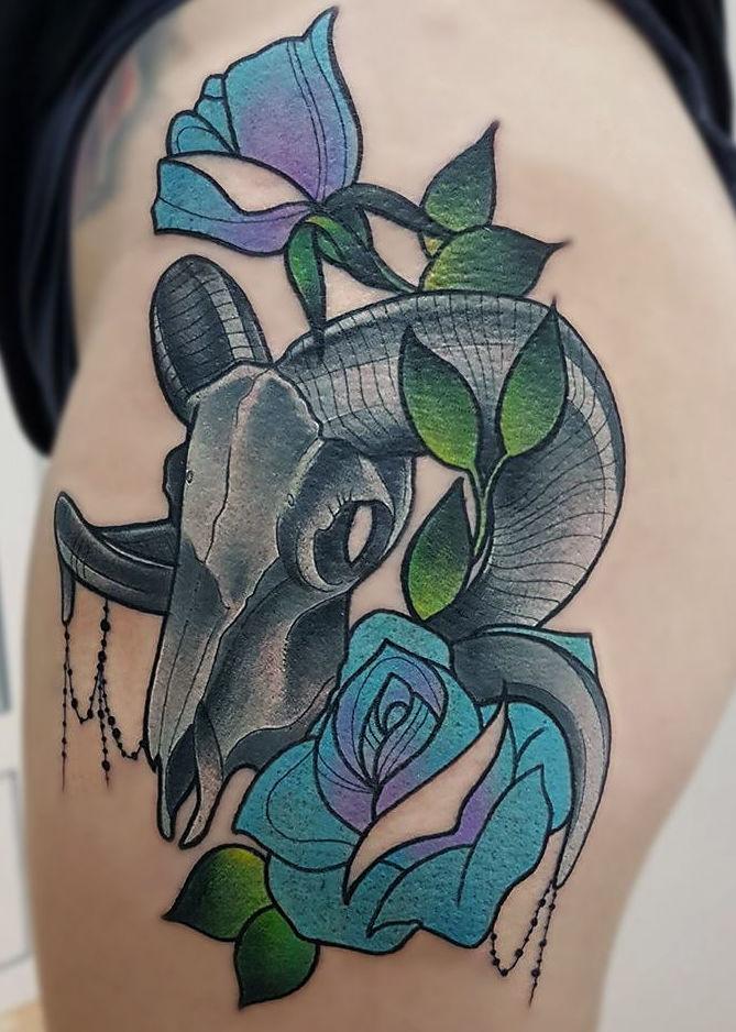 Foto 6 de Tatuajes en Cehegin | Skulls Lady Tattoo And Gallery