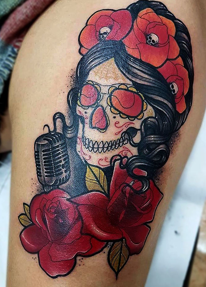 Foto 22 de Tatuajes en Cehegin   Skulls Lady Tattoo And Gallery