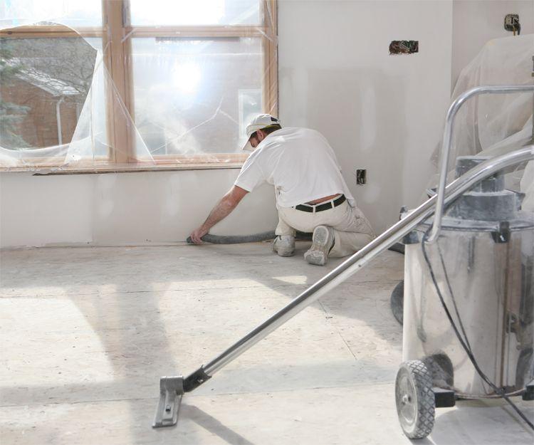 Limpieza de fin de obra