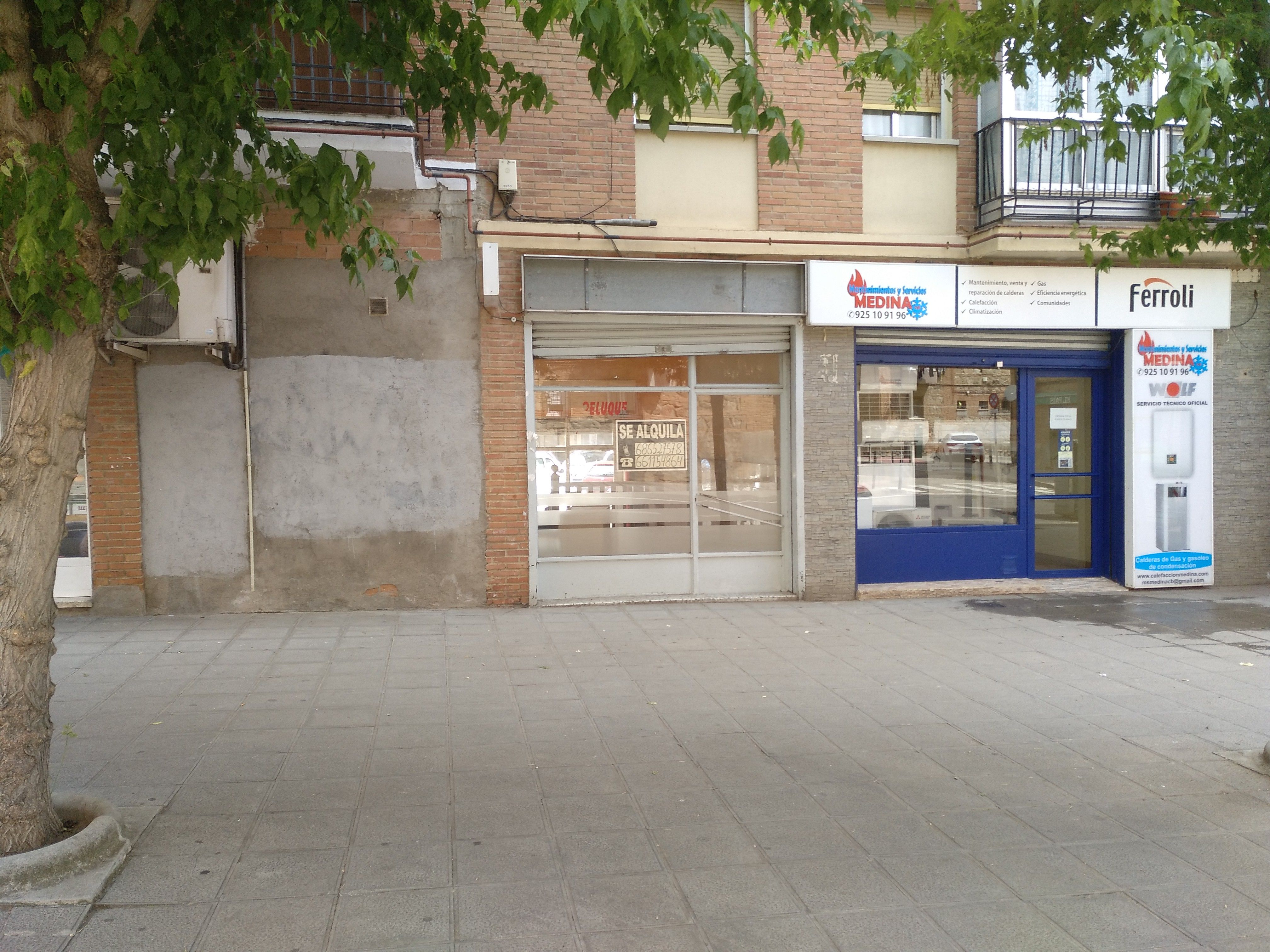 Alquiler de locales comerciales en Toledo