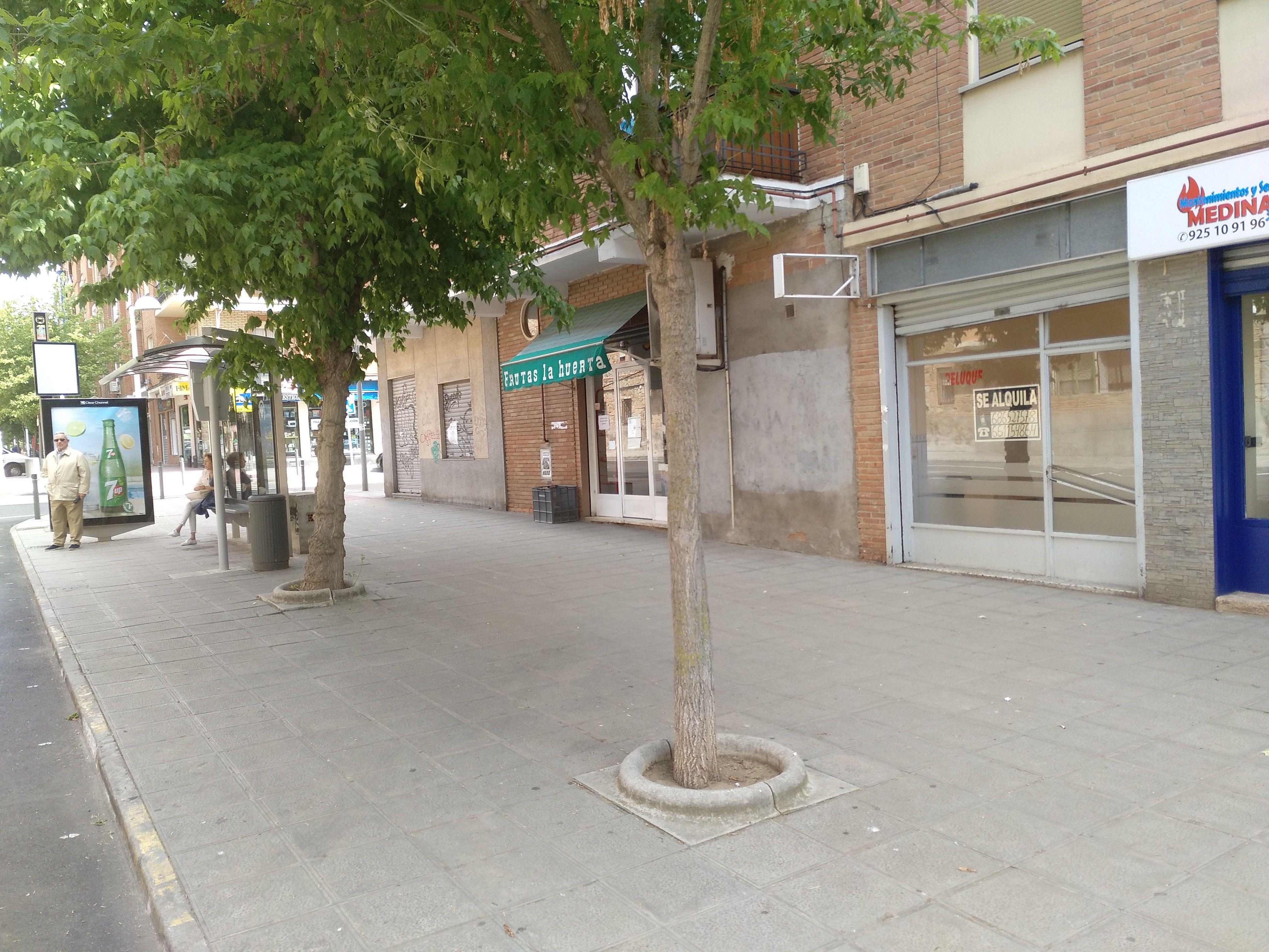 Venta de locales en Toledo