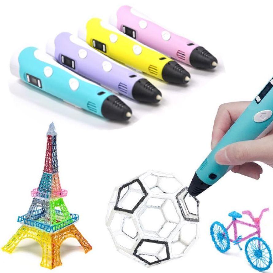 El lápiz 3D: Un importante estimulante creativo en los niños