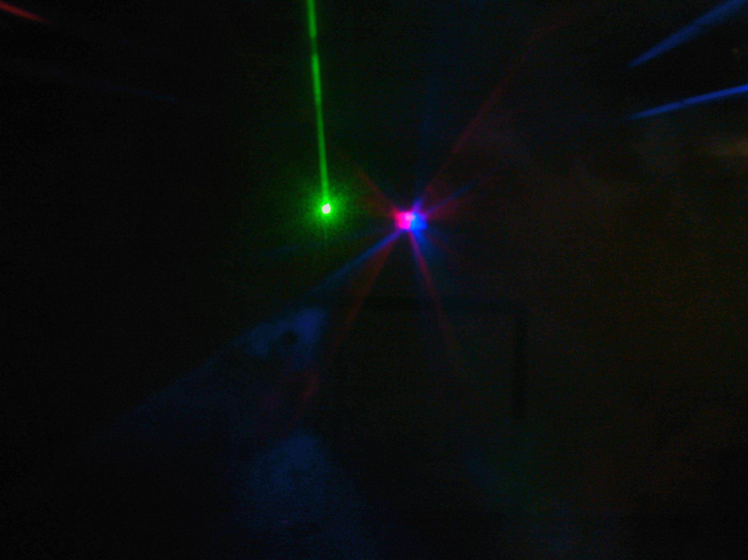 Efectos láser