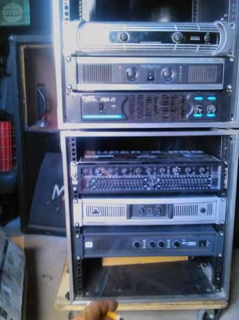 Etapas de potencia: Servicios de JCL Alquiler de sonido