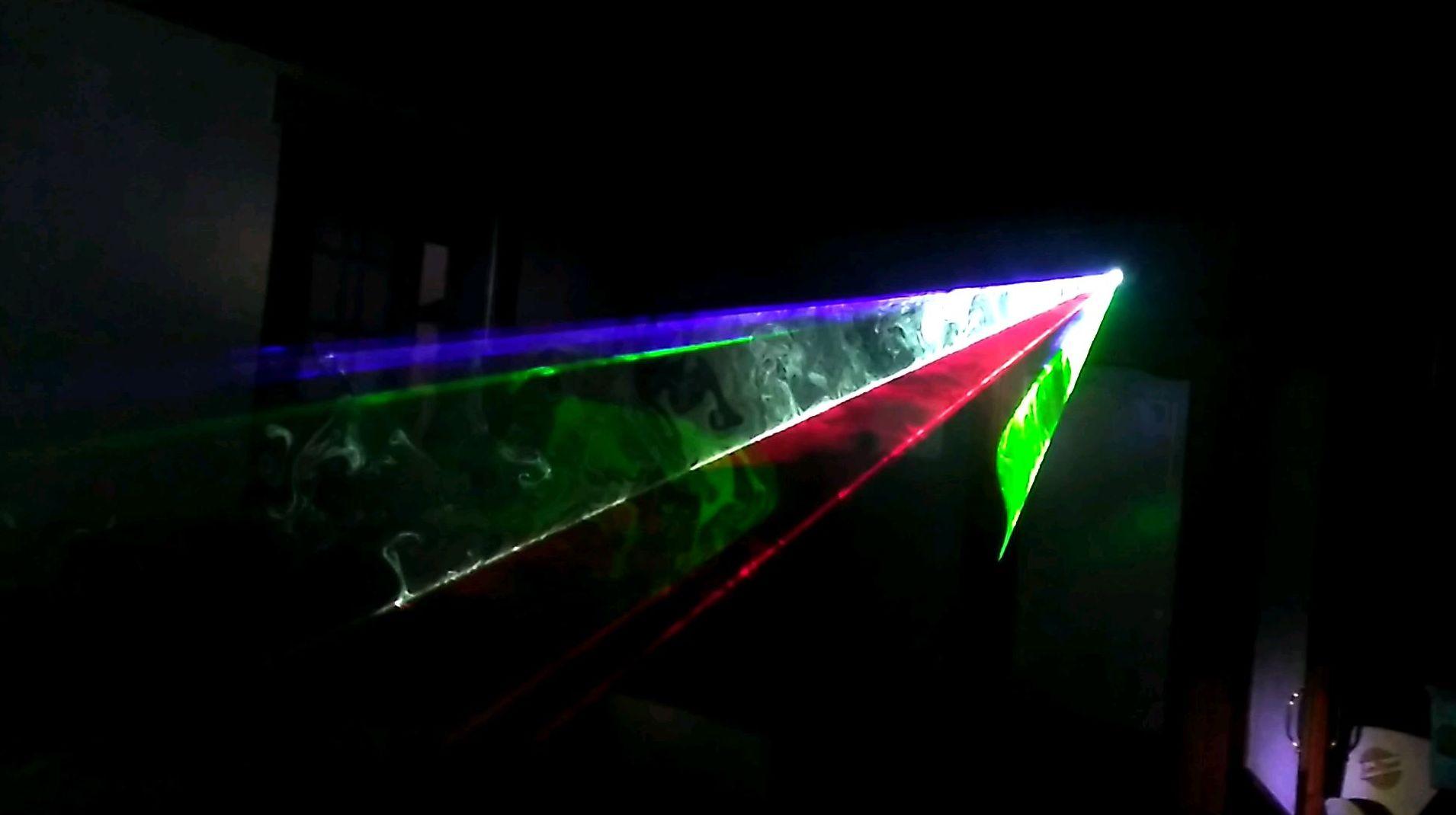 Alquiler de láser full color
