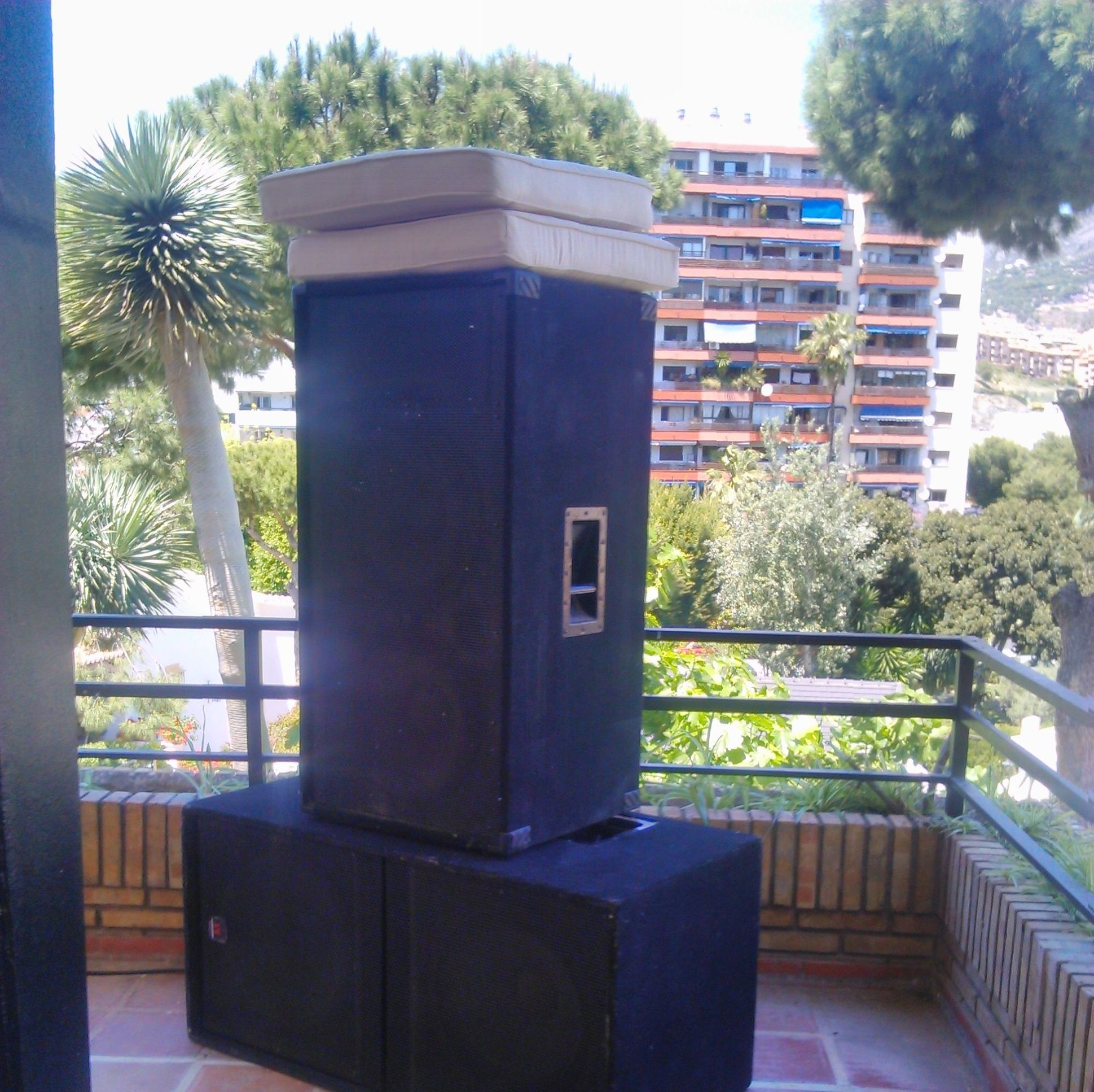 Alquiler de altavoces en Málaga