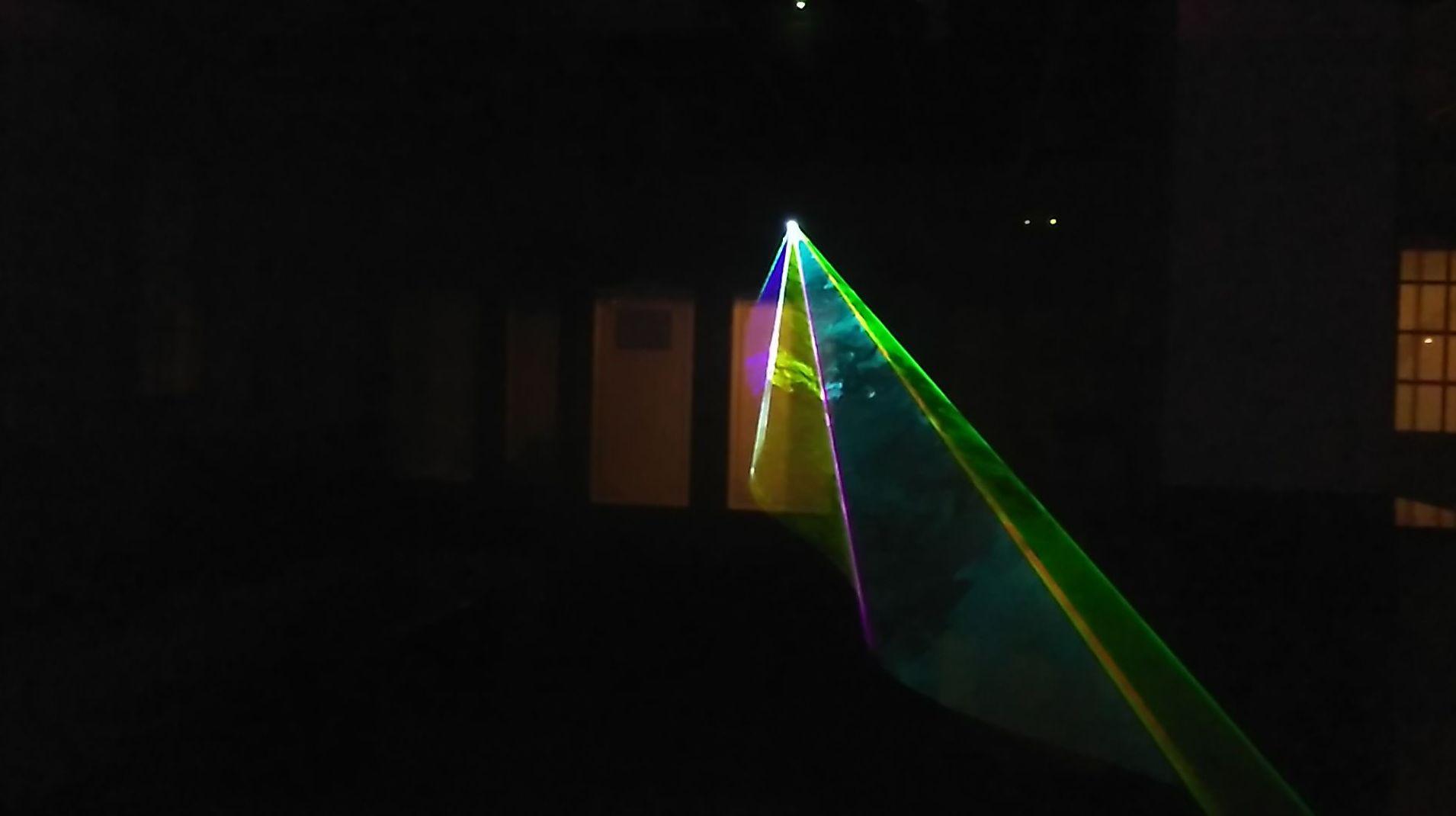 Láser RGB full color