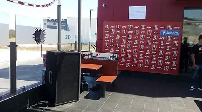 Sonido para aniversario KFC