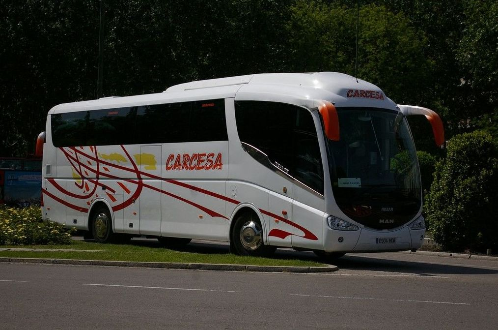 Líneas regulares: Servicios de Autocares Carcesa