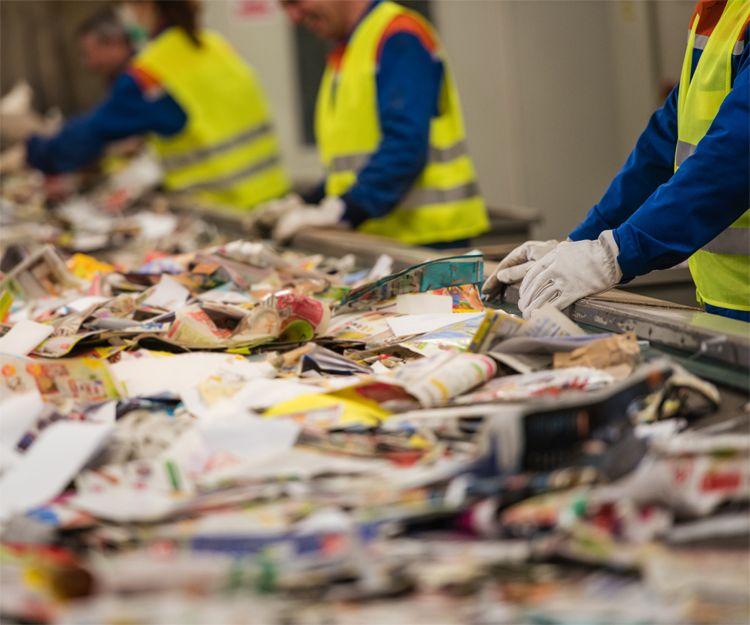 Reciclaje de residuos en Torelló