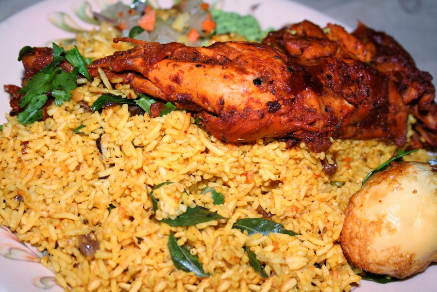 Biryani: Carta de Tandoori Dhaba Indian