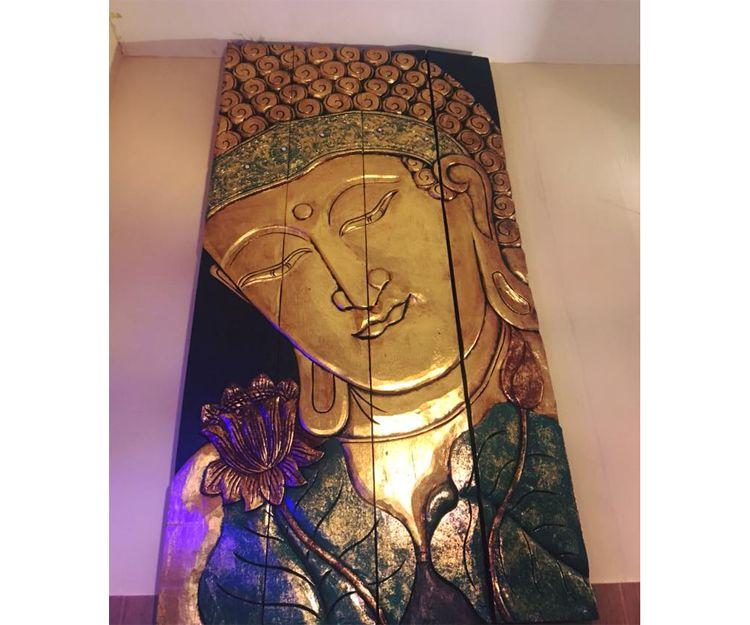 Nuestra decoración india en el restaurante