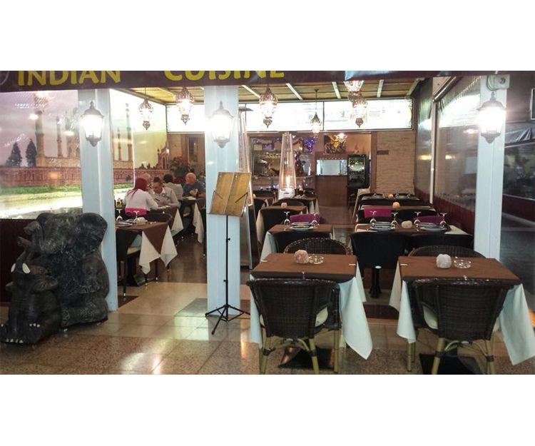 Interior del restaurante en San Bartolomé de Tirajana
