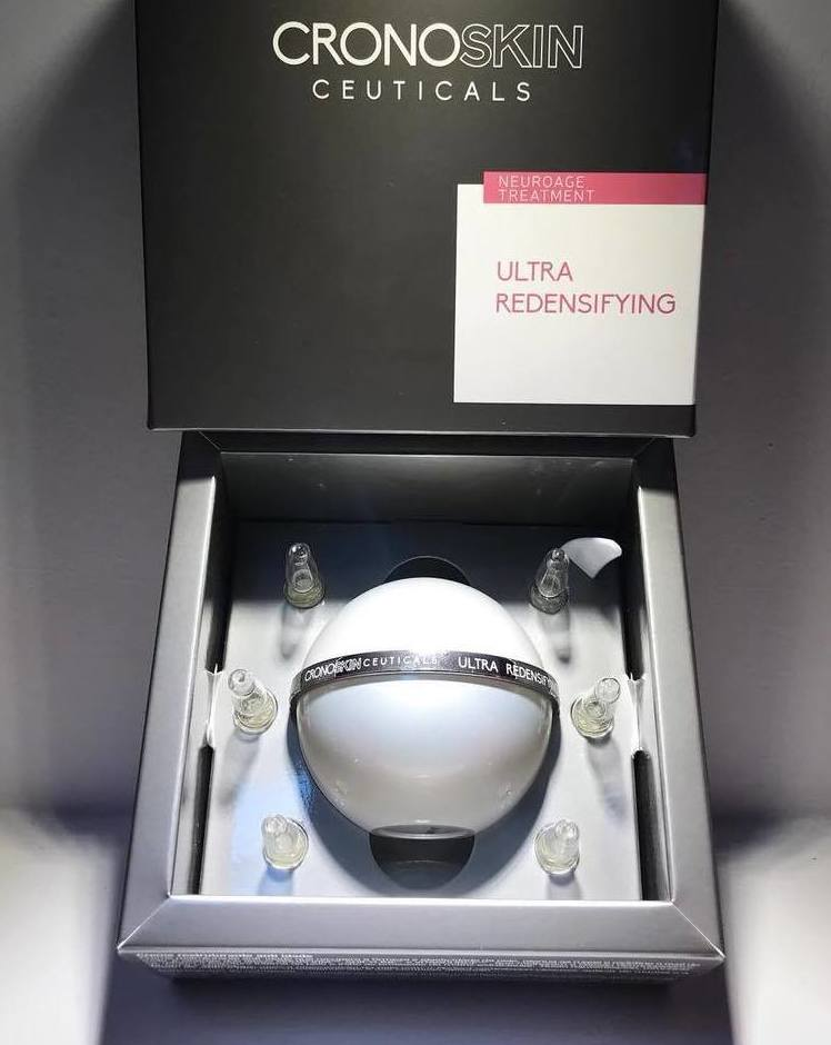 Tratamiento Facial Reafirmante Intensivo para casa: crema facial + 6 ampollas