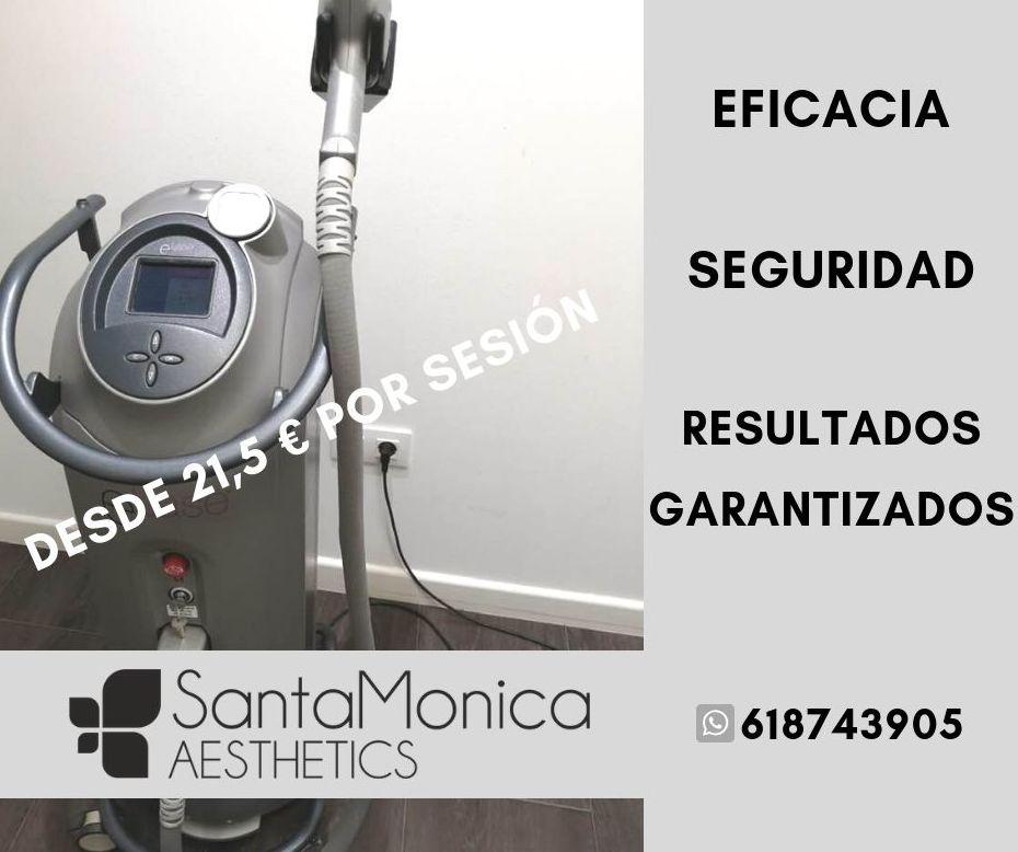 laser de diodo SantaMonica Aesthetics Badajoz