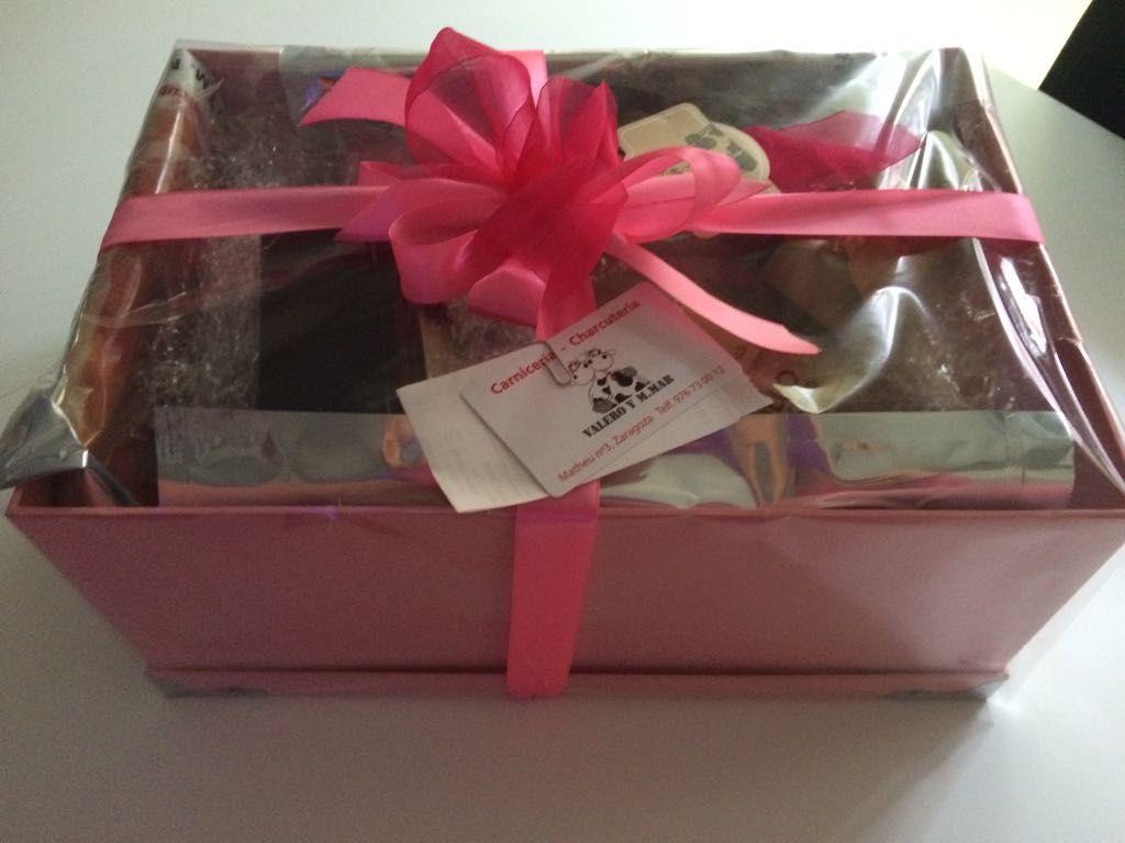 Cestas de regalo en Zaragoza