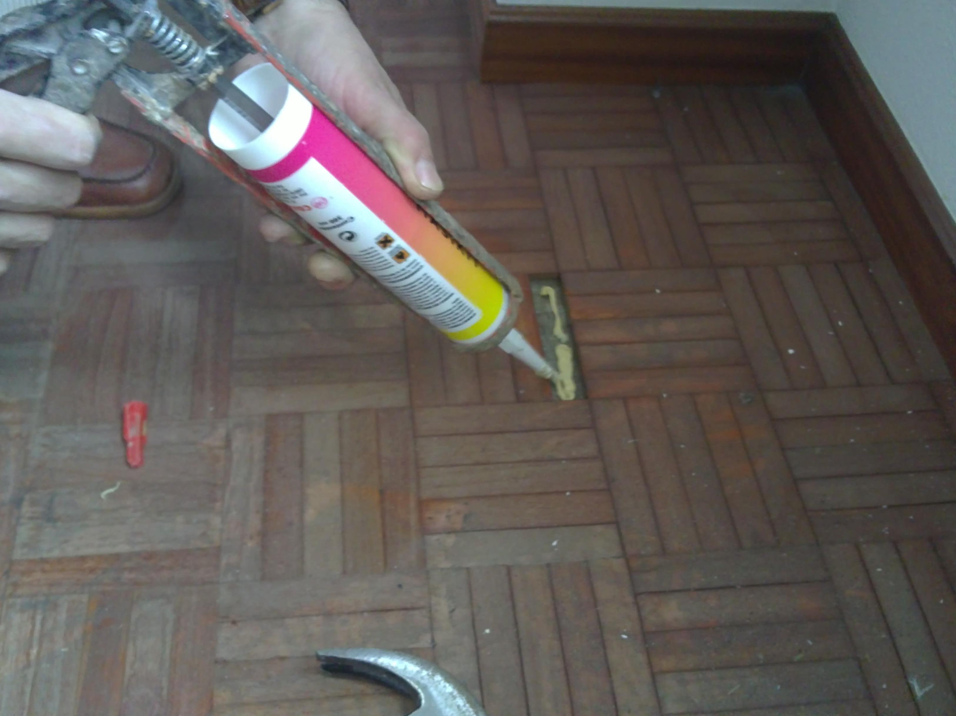 Reparaciones de parquet