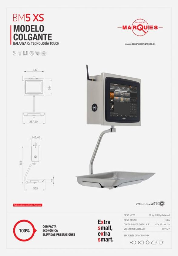 BM5-XS colgante: Nuestros productos de Merkapesaje