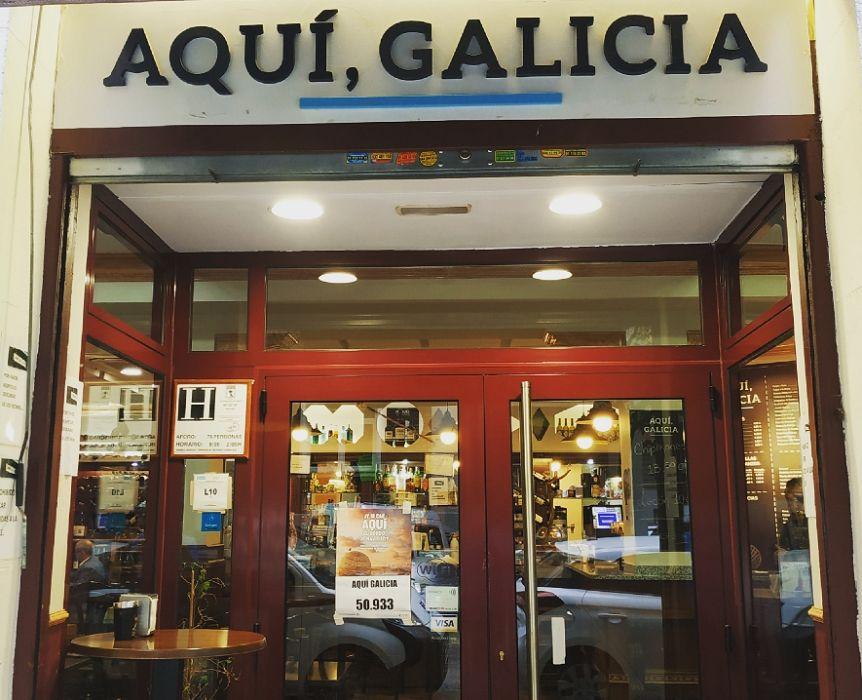 Restaurante de cocina gallega en Madrid