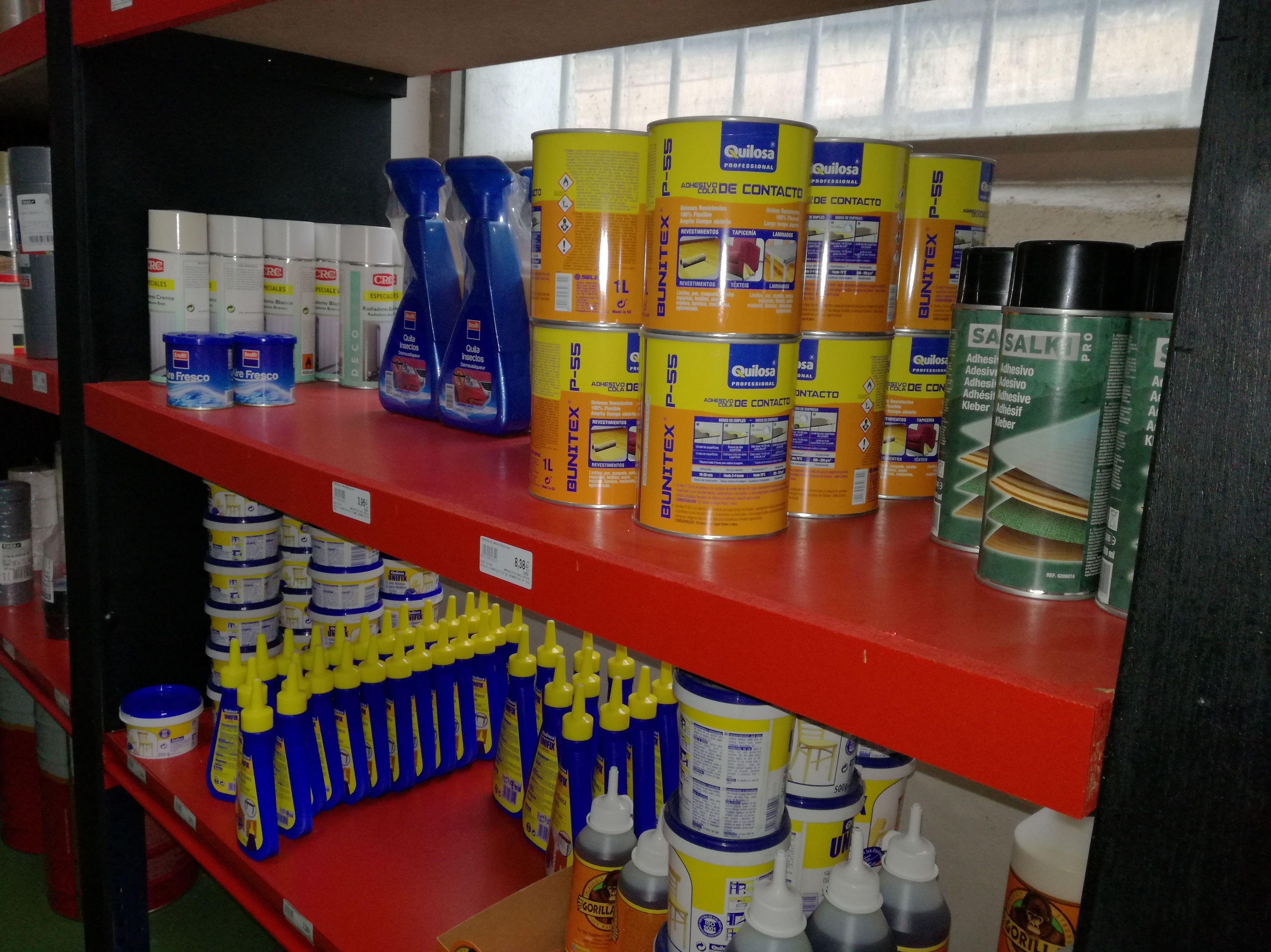 Adhesivos y productos químicos: Productos de Iturralde Industrigaiak, S.L.