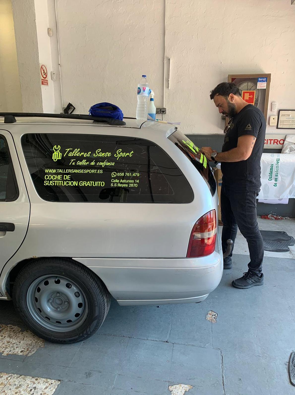 Vehiculo de sustitucion gratuito