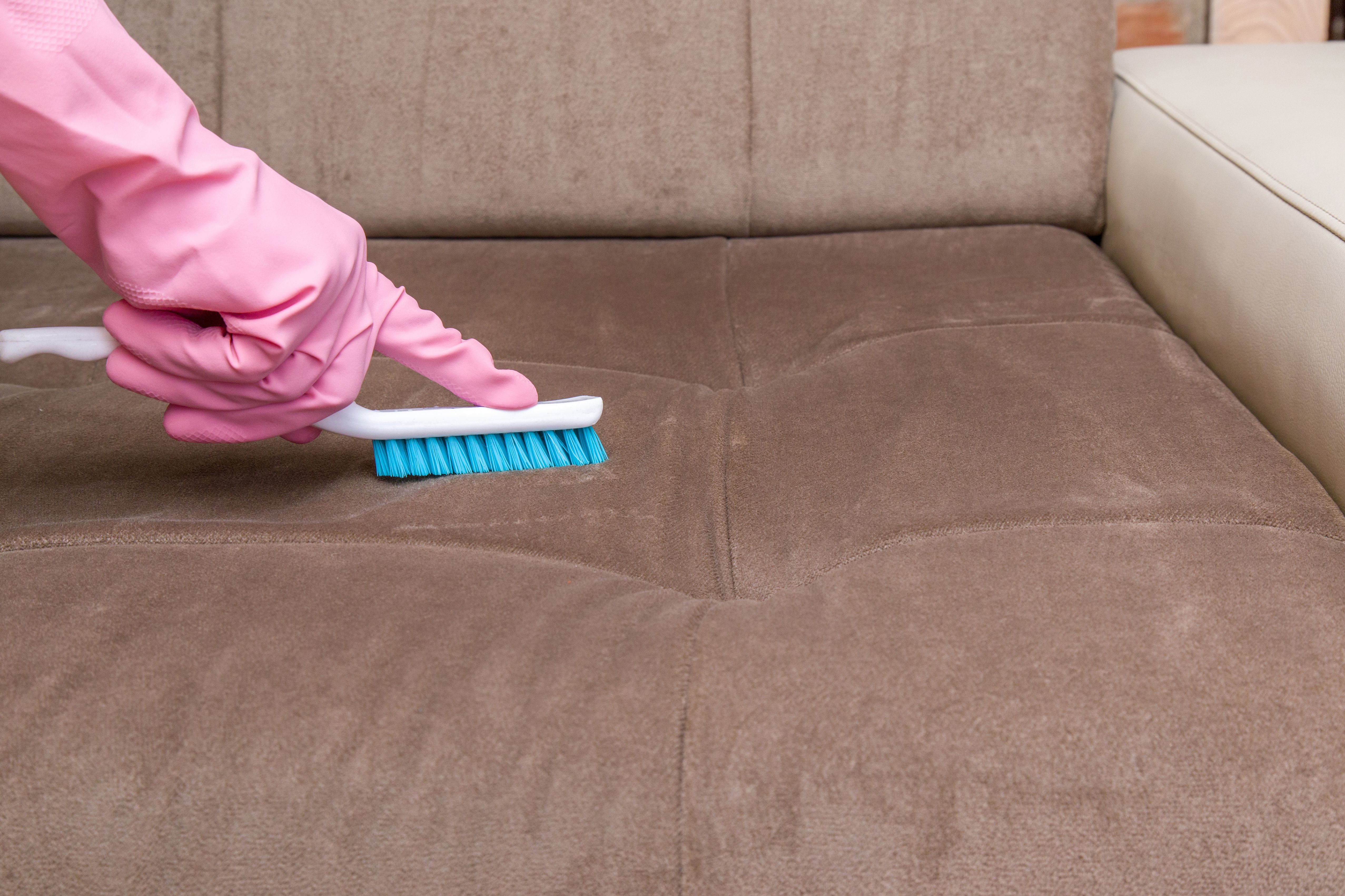 Limpiamos todo tipo de moquetas y sofás