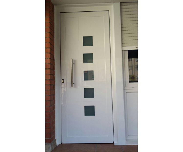 Puertas de aluminio para viviendas
