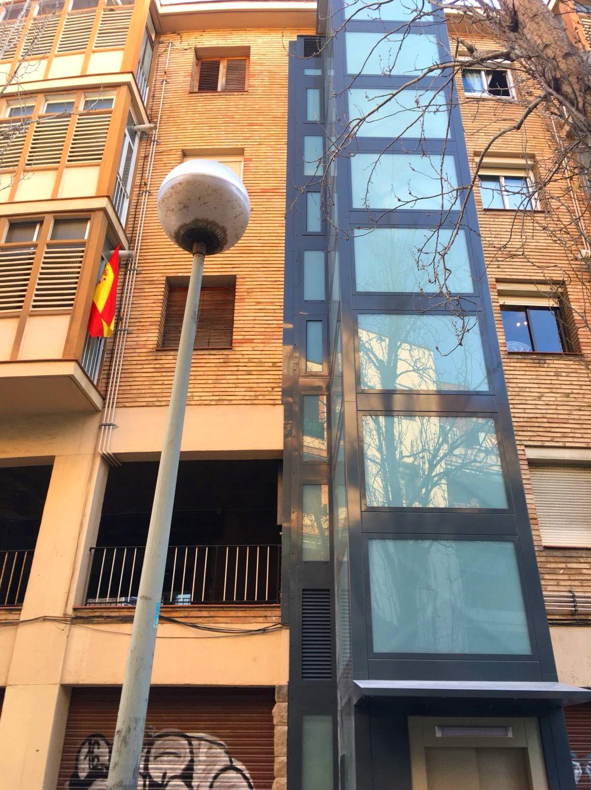 Cerramiento en Barcelona