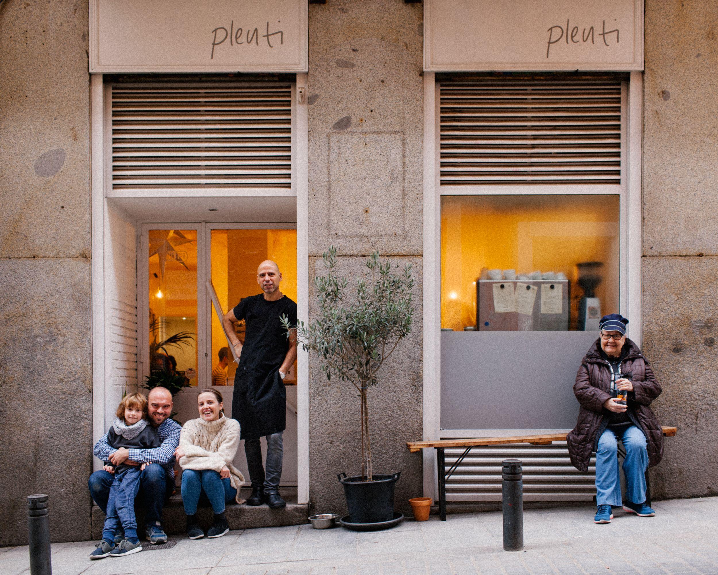 Bar cafetería Barrio de las Letras en Madrid
