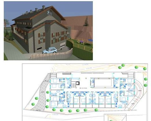 Apartahotel de 41 apartamentos en Benasque