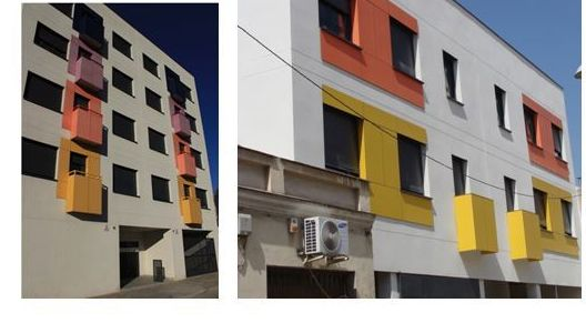 Edificio de 14 viviendas en Candelaria Mora, Madrid