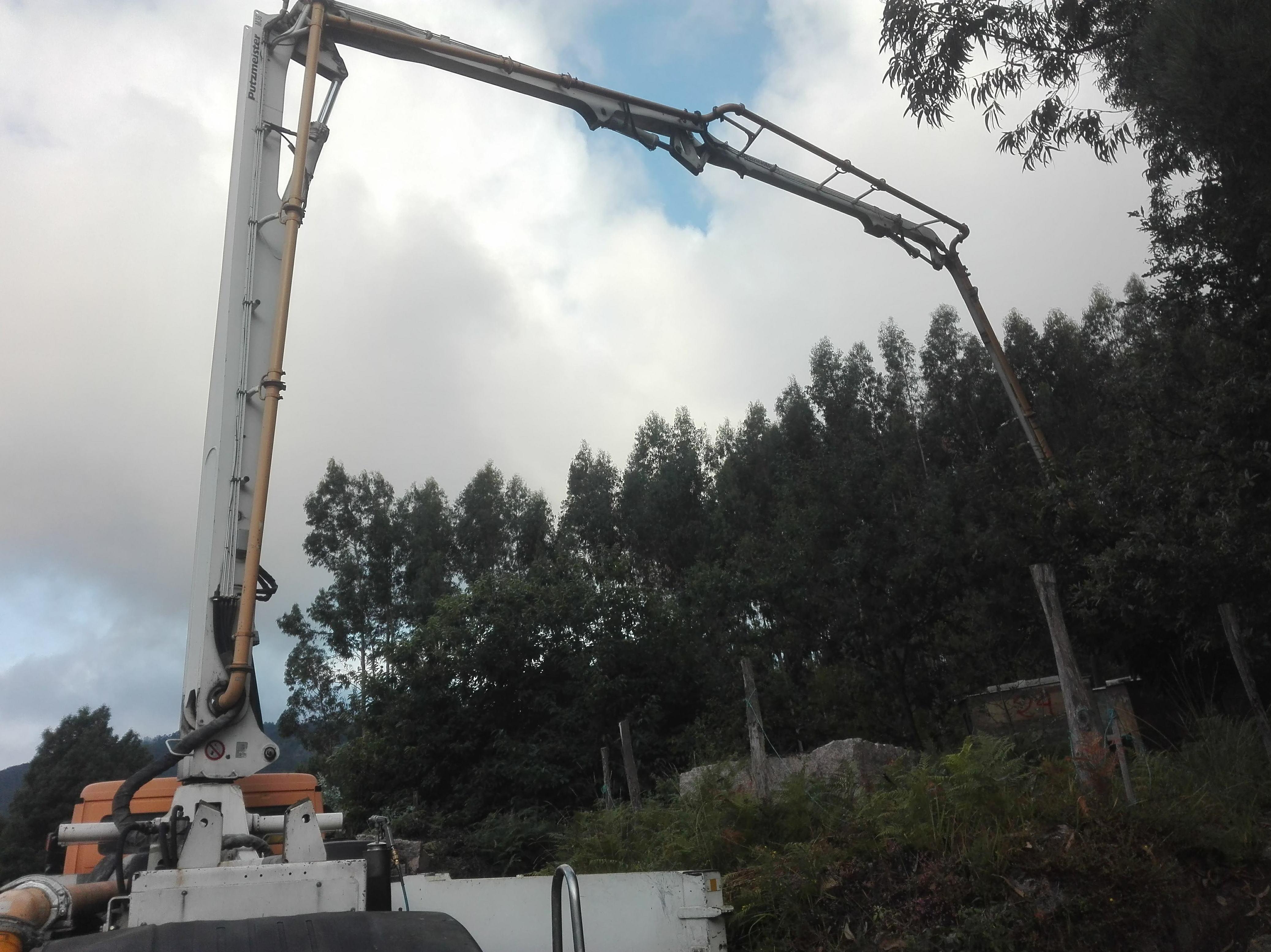 construcciones en terreno difícil acceso
