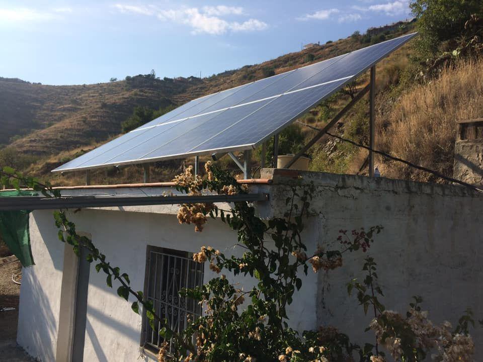 Instalación y mantenimiento placas solares Málaga