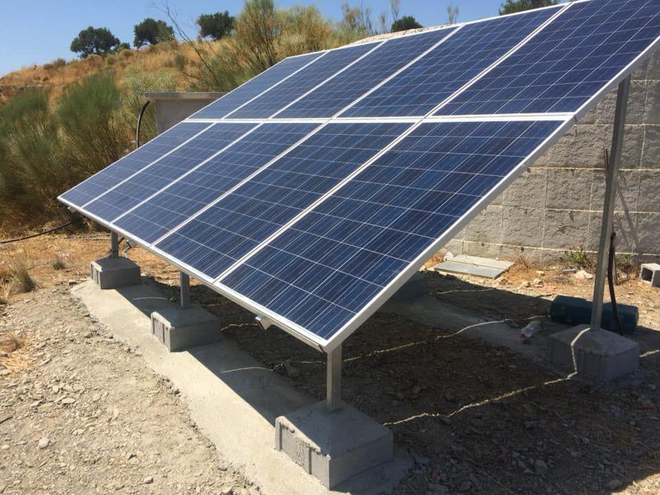 Aportación a red en energía solar Málaga