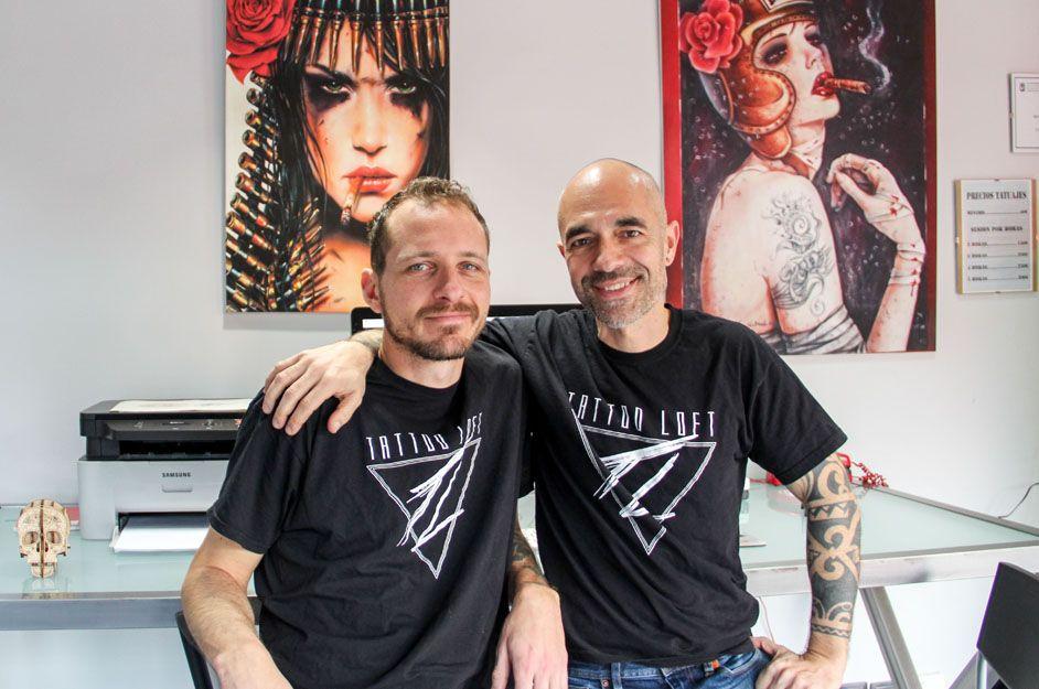 Profesionales del tatuaje en Tattoo Loft