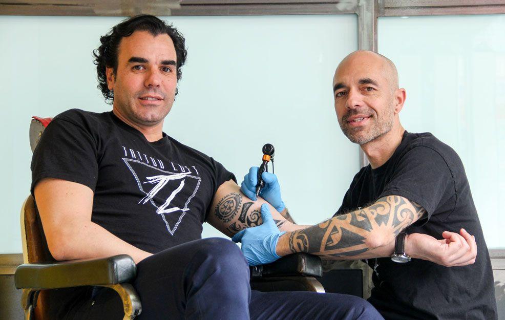 Javi Mago, creador del estudio Tattoo Loft en Carabanchel
