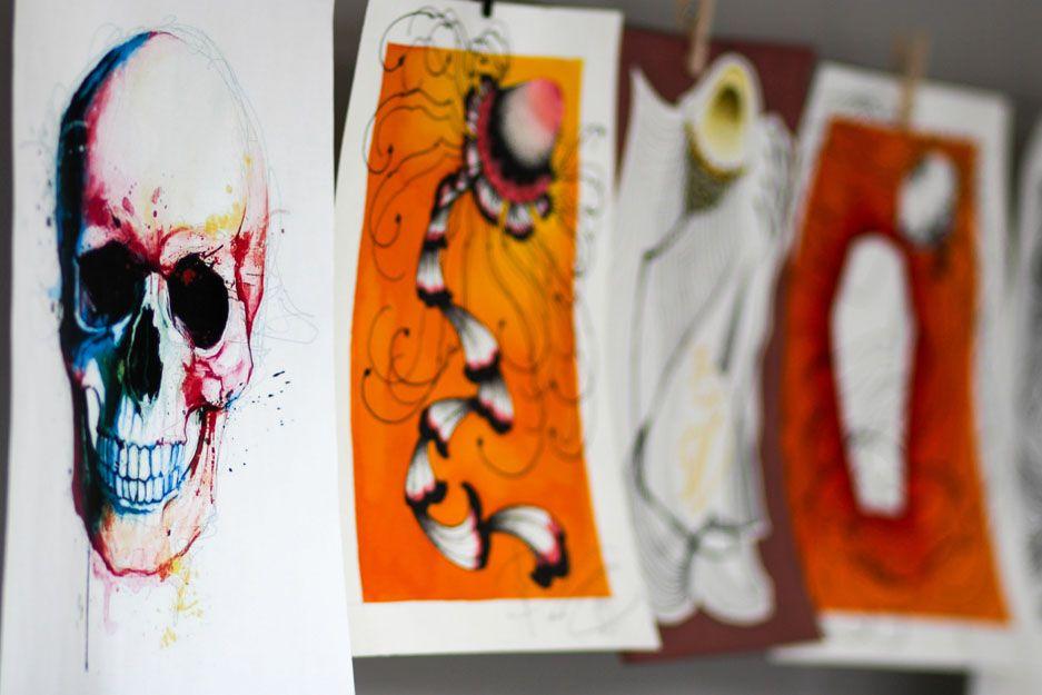 En Tattoo Loft nos especializamos en realismo B/N, japonés e ilustración