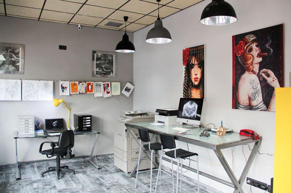 Interior de nuestro estudio de tatuajes