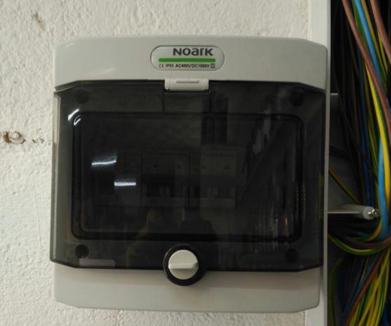 Cuadro eléctrico para aire acondicionado