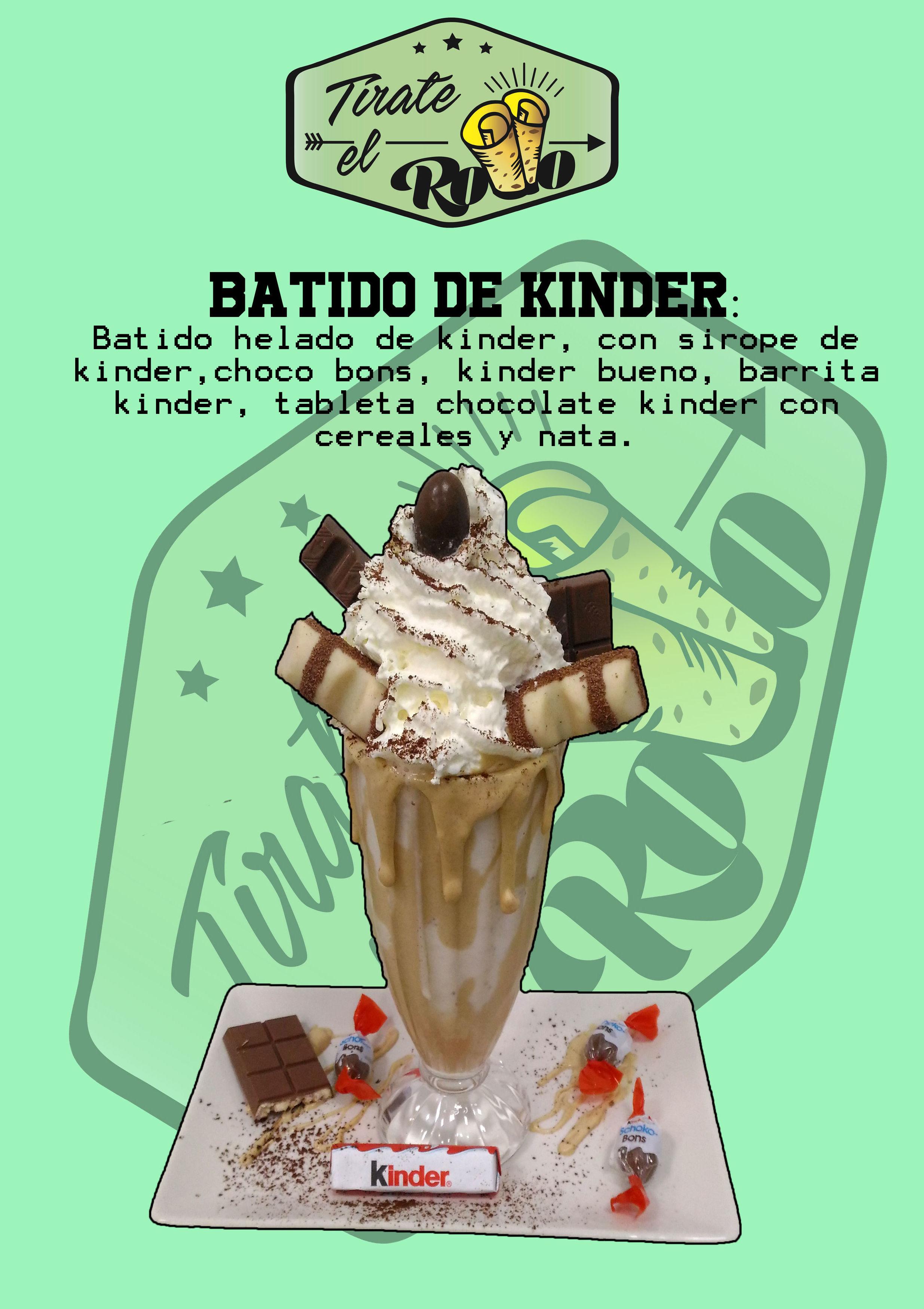 Batidos helados: Productos de HELADERÍA TÍRATE EL ROLLO