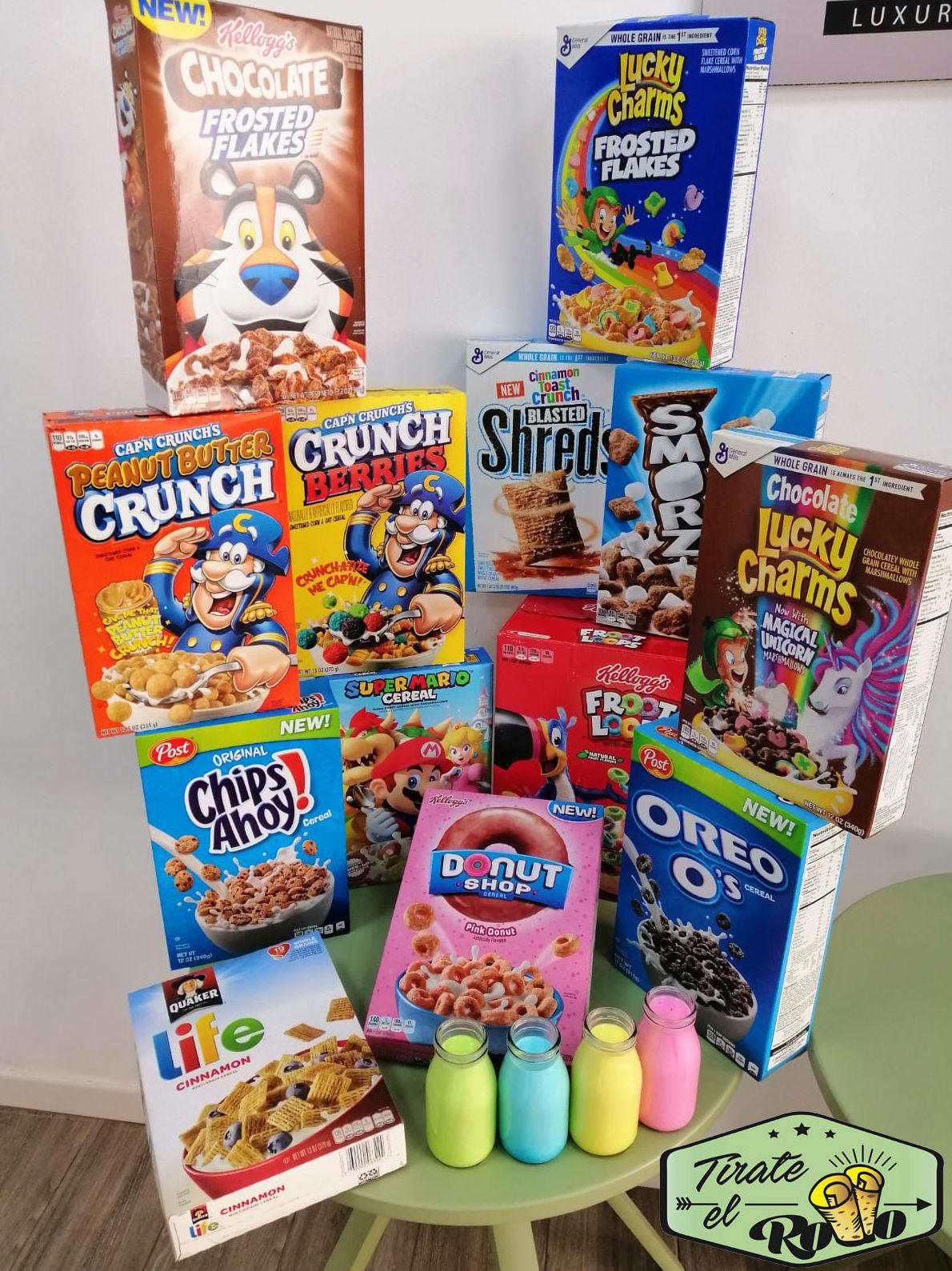 Cereales americanos: Productos de HELADERÍA TÍRATE EL ROLLO