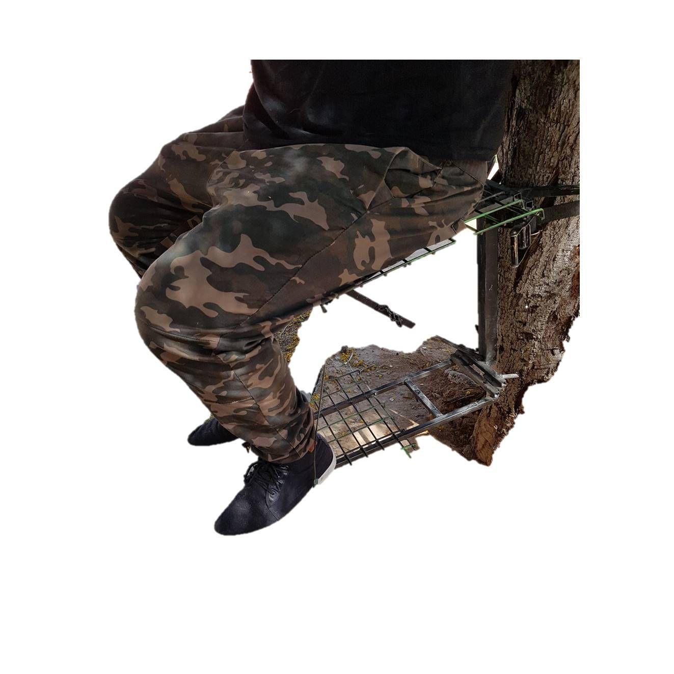 Silla de espera metálica para sujetar al tronco: Tienda online de Artículos de Caza