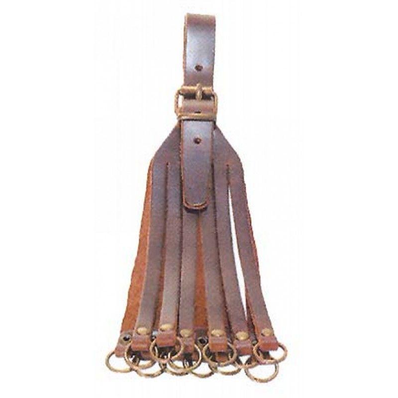 Porta cazas cuero con 12 ramales, artesanal: Tienda online de Artículos de Caza