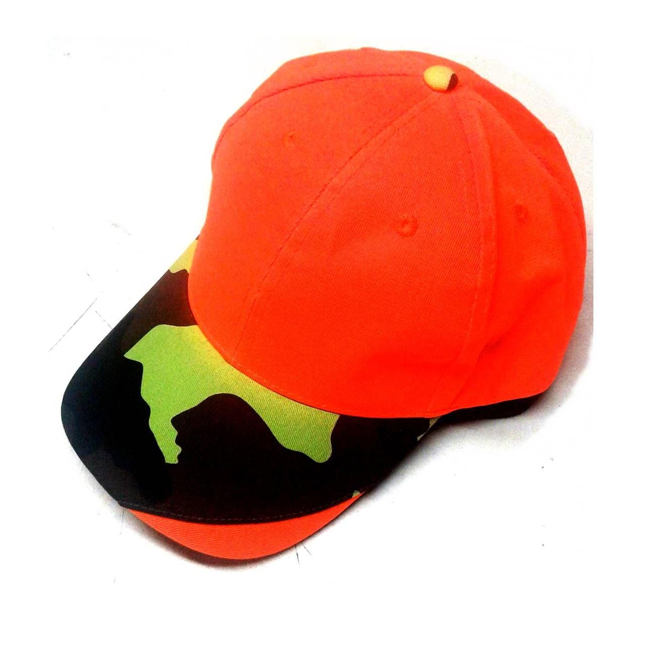 Visera reflectante color naranja, camuflaje: Tienda online de Artículos de Caza